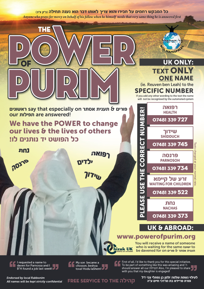 Harness the Power Of Purim